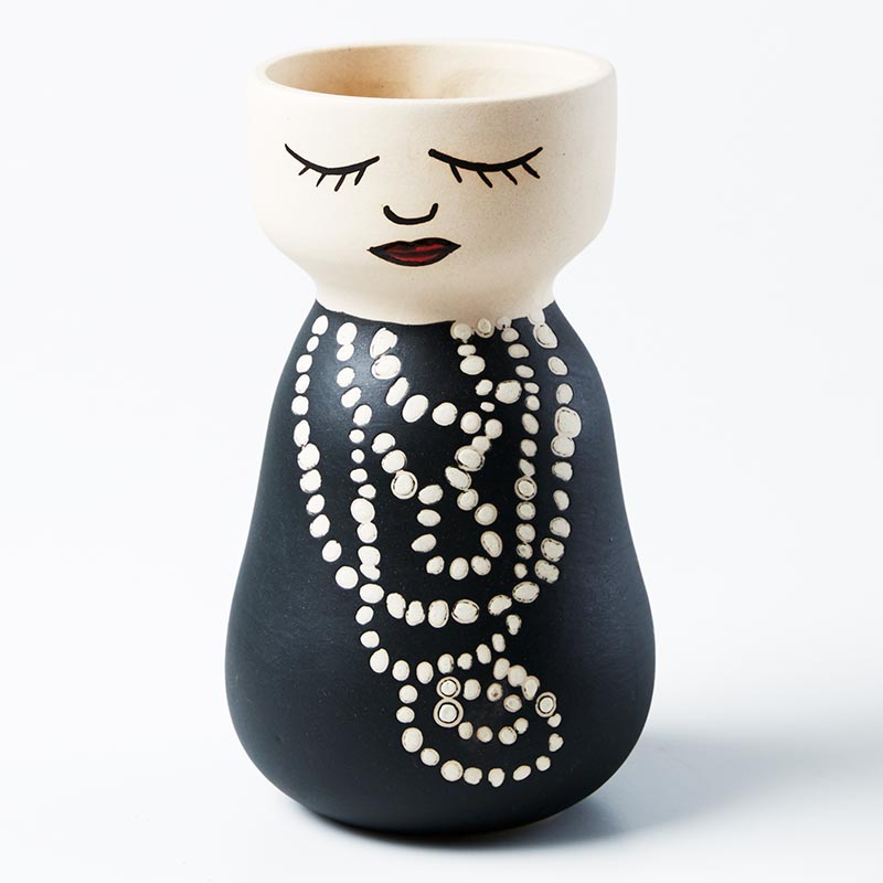 Jones & Co - Coco Face Vase