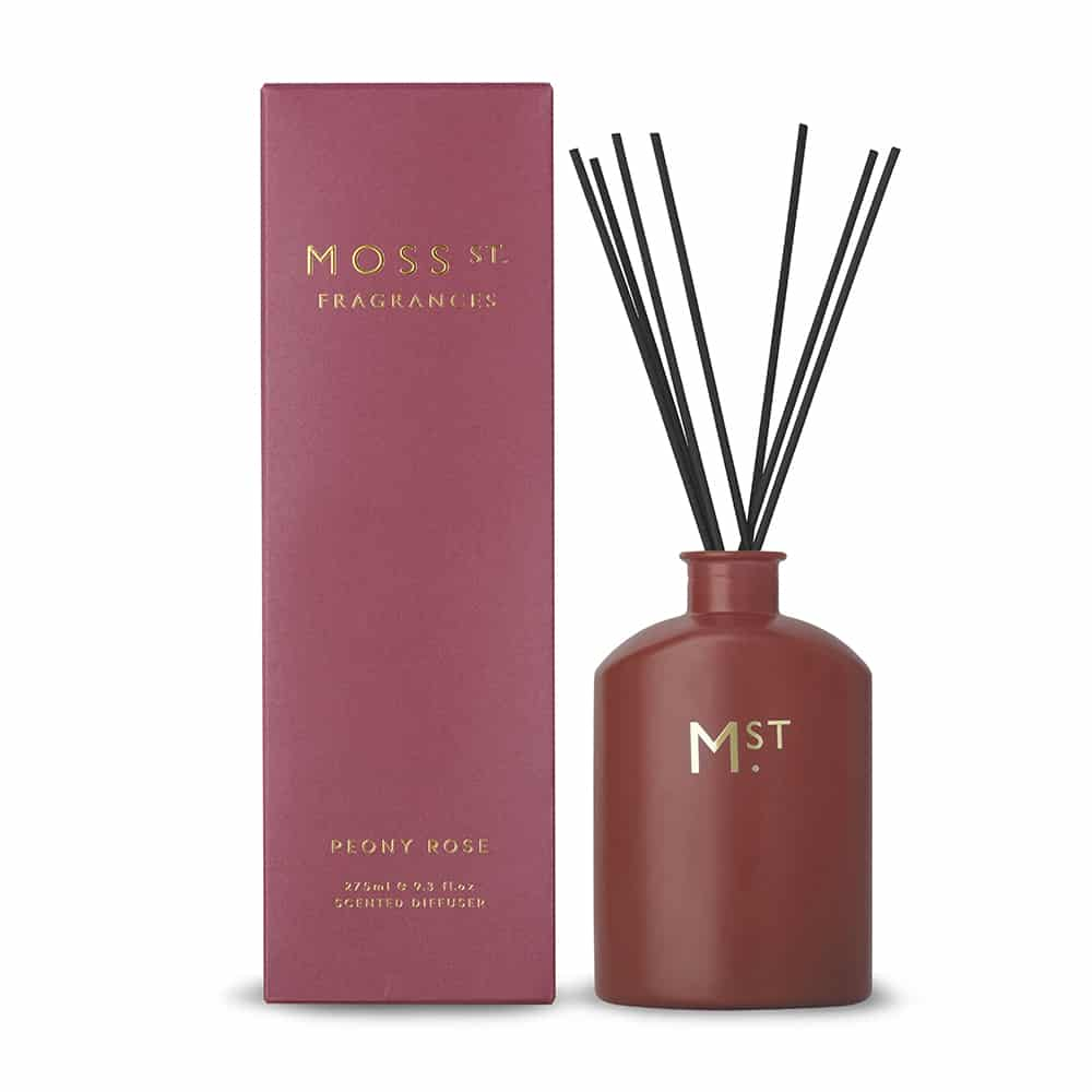 Moss. St Peony Rose Diffuser