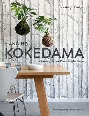 Hanging Kokedama - Creating Potless Plants for the Home