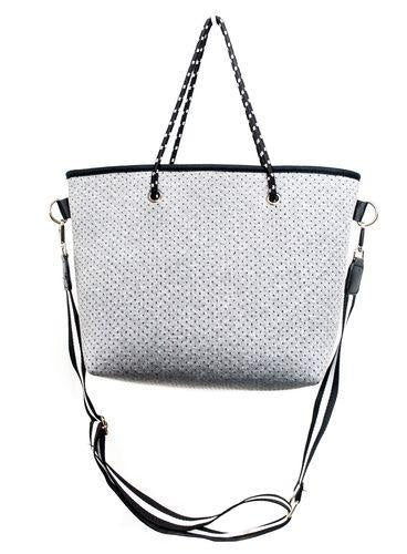 Punch Grey Marle Small Tote