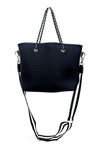 Punch Black Small Tote