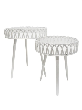 Loop Rattan Side Tables - Assorted Sizes
