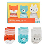 Organic Baby Socks - Set of 3