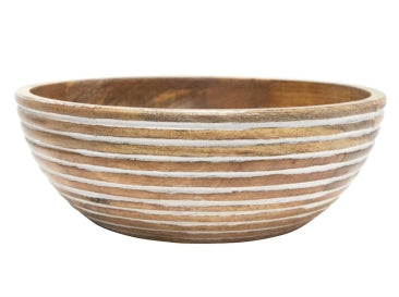 Ridge wood Bowl