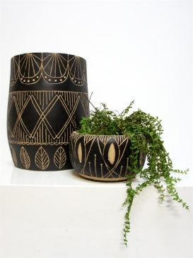 Zanadu Bowl - Natural & Black