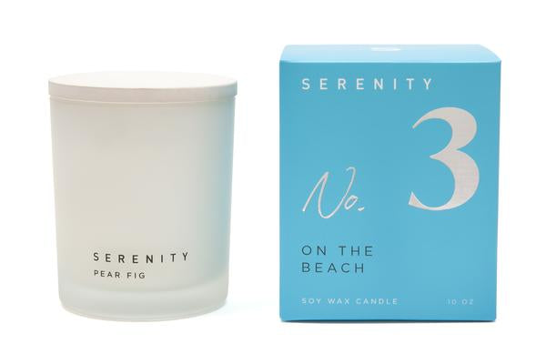 Serenity Signature - On the Beach Candle 10oz