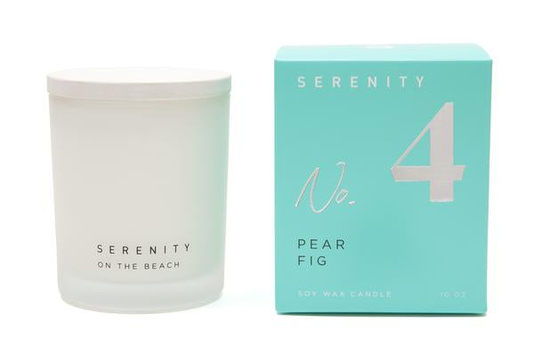Serenity Signature - Pear Fig Candle - 10oz