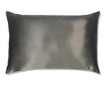 Charcoal Silk Pillowcase