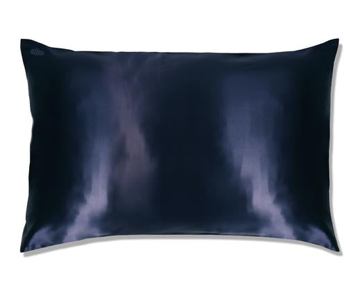 Navy Silk Pillowcase