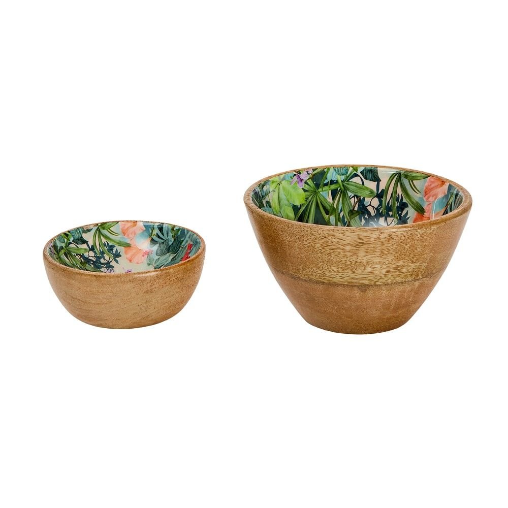 Wild Flower Dip and nut Bowl