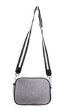 Punch Rectangle Shoulder Bag with Strap