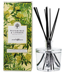 Lemongrass & Lemon Myrtle Reed Diffusers 250ml by Wavertree & London