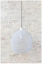 Pendant/Lamp Shade - Ball White