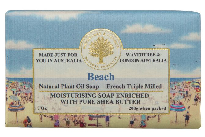 Wavertree and London Soap - Beach 200gm