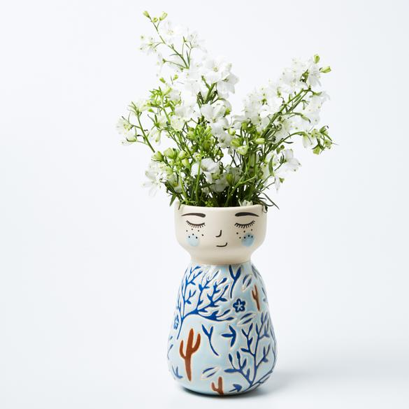 Jones & Co - Corbett Face Vase