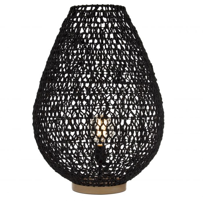 Lonsdale Table Lamp - Natural Rattan