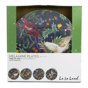 Tree of Life Plate Set x 4