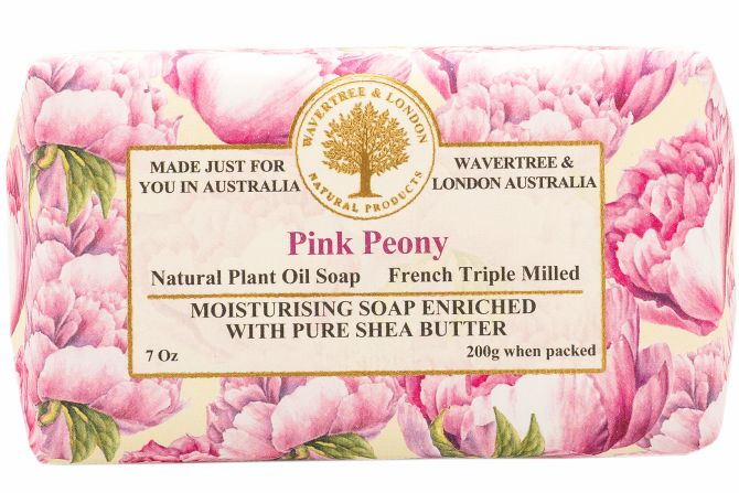 Wavertree and London Soap - Pink Peony 200gm