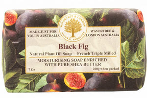 Wavertree and London Soap - Black Fig 200gm