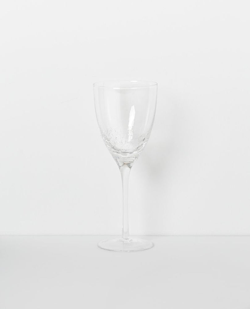 Crackle Wine & Champagne Glass