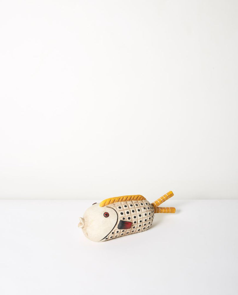 Kala Ceramic Fish - White (28cm)