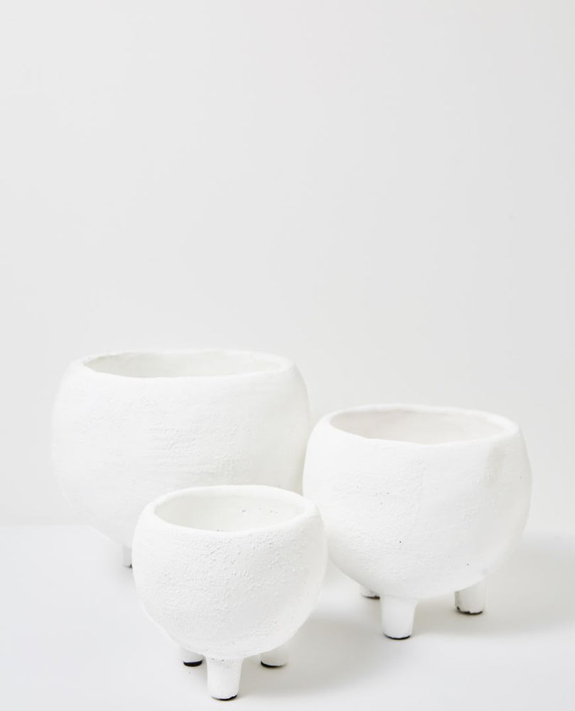 Monte Pot White (Assorted Sizes)