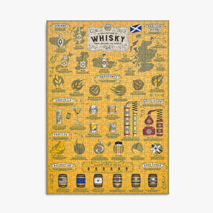Ridley's Games - Whiskey Lovers 500 piece Jigsaw Puzzle