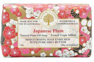 Wavertree and London Soap - Japanese Plum 200gm