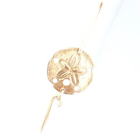 Sand dollar Bangle Bracelet - Love Andrea's Closet