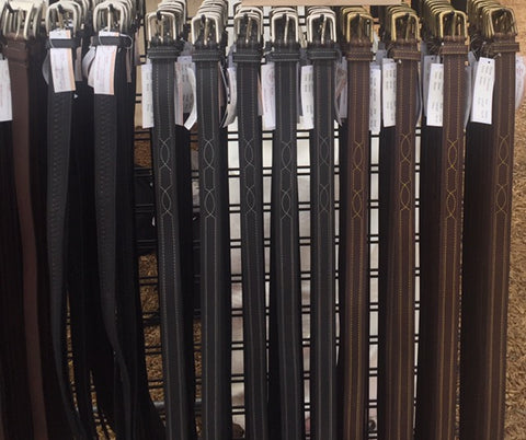 Some of our Full Grain Leather Belts
