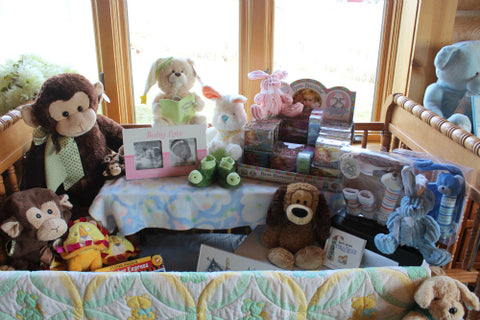 Baby and Childrens Gifts at The Red Geranium in Mauston Wisconsin