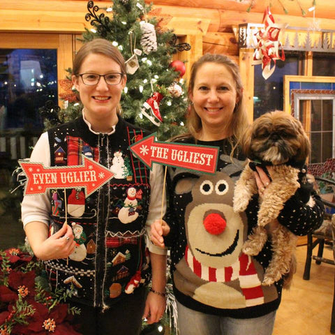 Ugly Sweater Party at The Red Geranium in Mauston