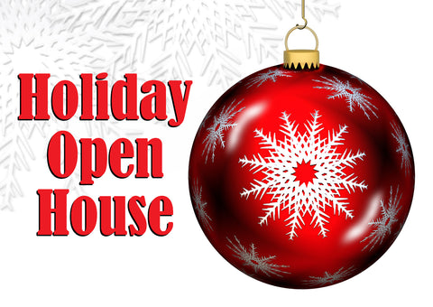 Holiday Open House at The Red Geranium in Mauston