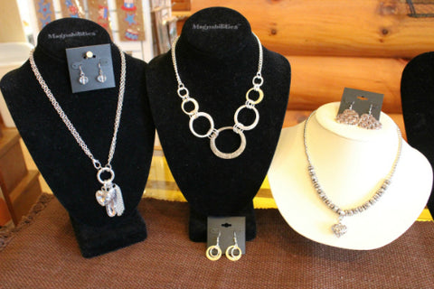 Jewelry at The Red Geranium in Mauston Wisconsin