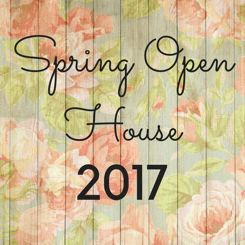 Spring Open House Event at The Red Geranium in Mauston