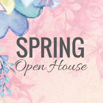 Spring Open House at The Red Geranium in Mauston