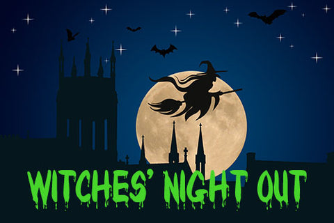 Witches' Night Out at The Red Geranium in Mauston