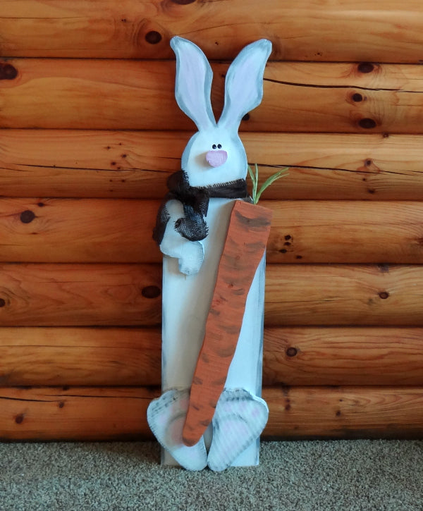 Paint Party - Large Bunny with Carrot