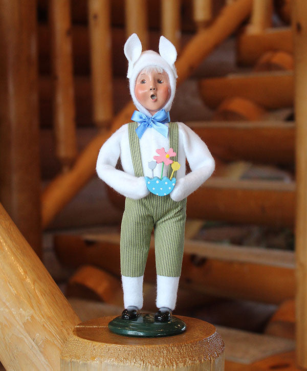 Byers' Choice Easter Boy Bunny 2016