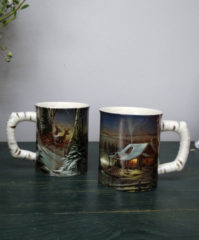 Whitetail Deer Mug Set