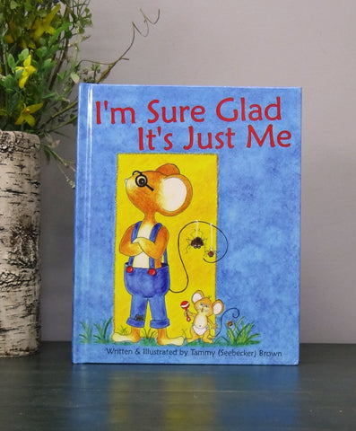 Childrens Book - Herman the Mouse Sure Glad It's Just Me!