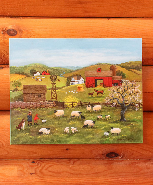 Mary Singleton - Lambing Time
