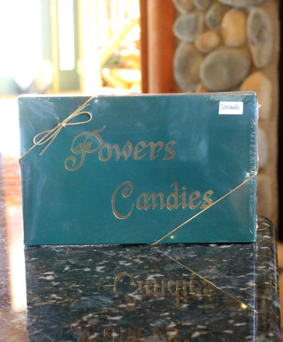 Box of Caramels by Powers Candies
