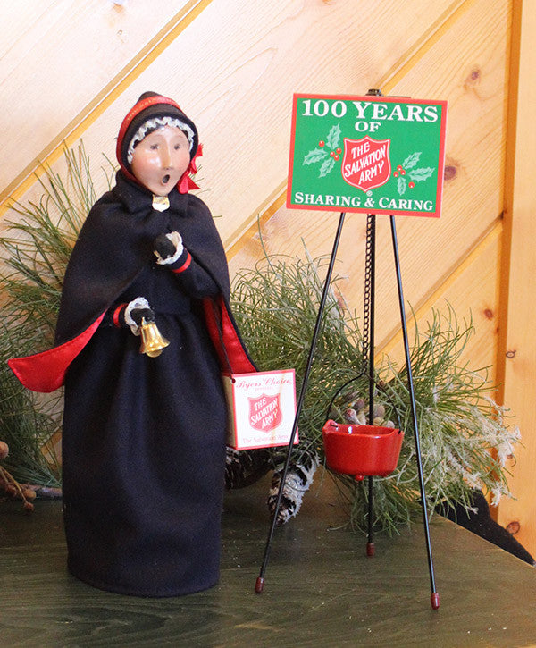 Byers' Choice Salvation Army Woman