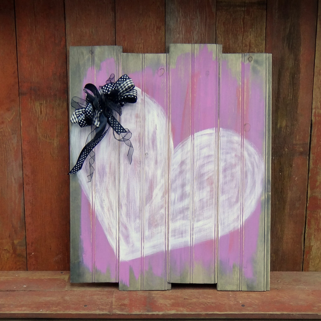 "Paint Party - ""Valentine Heart"" Board"