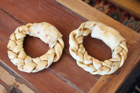Circle Braided Rawhides (Set of 2)