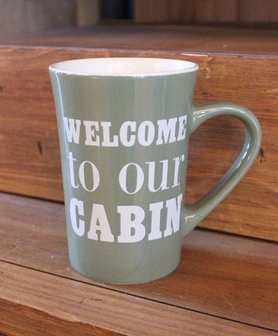 Mug - Welcome to the Cabin
