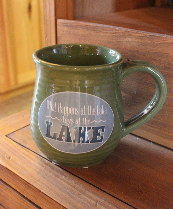 Mug - What Happens at the Lake Stays at the Lake