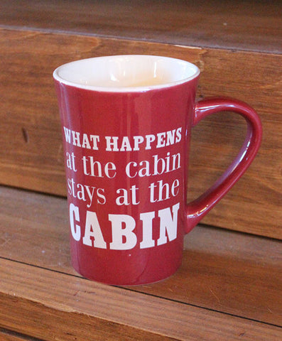 Mug - What Happens at the Cabin