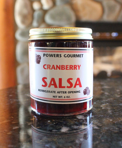 Wisconsin Cranberry Salsa by Powers Gourmet